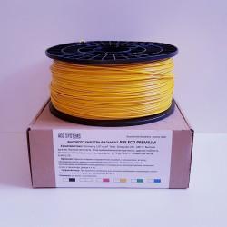 ABS пластик желтый (1.75 1000)