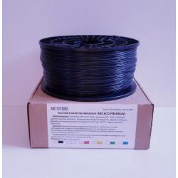 ABS пластик чёрный (1.75 1000)